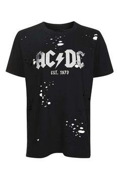 TALL AC/DC Motif Nibble Tee