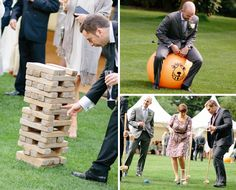 games for guests at an outdoor #wedding