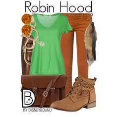 A fashion look from March 2014 featuring short sleeve v neck t shirt, brown jeans and lace-up ankle boots. Browse and shop related looks.