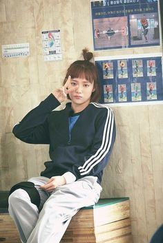 Nam Joo Hyuk Lee Sung Kyung, Jae Yoon, Weightlifting Kim Bok Joo, Weightlifting Fairy, Korean Actresses, Korean Actors, Actors & Actresses, Kim Bok Joo Fashion, Weighlifting Fairy Kim Bok Joo