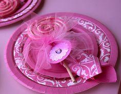 Piruletas para fiesta de ballet o princesa. - Ideas y material gratis para fiestas y celebraciones Oh My Fiesta!