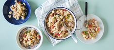 Tonnikala-pastasalaatti on klassikko, kuin paluu lapsuuden ruokapöytään. Kätevä salaatti on kuin tehty rennolle brunssille, piknikille tai evääksi töihin. Noin 1,50€/annos.