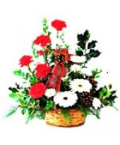 You can order this mixed arrangement of Carnations and Gerberas from FlowerzNCakez as a different types of gift.