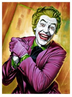 Fan art of 'Cesar Romero' as 'The Joker' in 'Batman TV Series' (1966–1968)