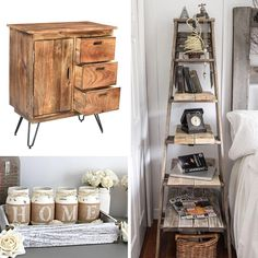 Jaydo Cabinet in Natural Burnt Rustic Charm, Country Chic, Cabinets, Mango, Storage, Natural, Wood, Modern, Furniture