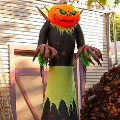 Giant Inflatable Halloween Pumpkin Reaper