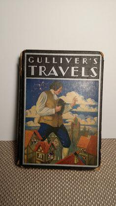 Gulliver's Travels antique book 1939 by TheAntiqueFarmhouse