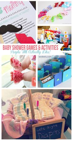 Baby Shower Games and Activities (that people will actually like!)  | Fun party ideas.