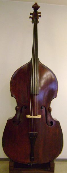 "In the event I ever had a house big enough to have a ""show living room"" used only on special occasions my dream is to have a double bass resting on its side in the room as decoration.. Grand pianos are over done. I miss playing this beautiful string instrument #MyYouth"