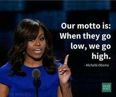 FLOTUS on what they say about bullies and liars in her family...                                                                                                                                                                                 More