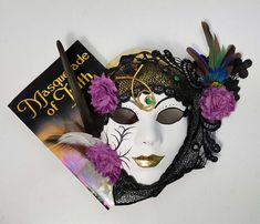 My two passions in one photo - books and masks. I made this mask to illustrate the book 'Masquerade of Truth', a mystery set in New Orleans. The mask isn't for sale - it's going to the author - but I have similar ones on the way. The book, however, you can purchase, click the link for outlets. #masksculpture #masksdesign #maskseries #masksmadewithlove❤ #masksrock #fantasyart #booksbooksbooks #booksforever #fictionbooks #afictionalworld #fictioneditors #fictionnovels #literary fiction University Of Indianapolis, Gonzaga University, Steampunk Hat, Steampunk Accessories, Literary Fiction, Photo Books, The Rev, Dead Man, Outlets