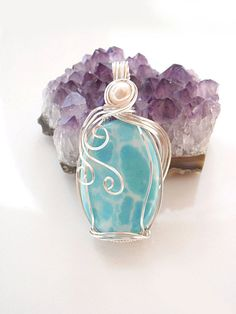 Larimar pendant   # Pinterest++ for iPad #