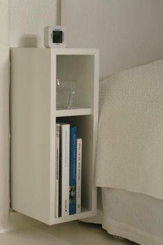 Criado Mudo El Torre á imaginou um móvel compacto e perfeito para guardar pequenos pertences , além de agregar beleza à decoração, Com o lindo criado mudo o seu quarto terá um toque de charme! Ele possui 2 nichos para acomodar livros, acessórios decorativos e até mesmo o abajour. Produto 100% de MDF (Medium Density Fiberboard - Fibra de Média Densidade,ECOLOGICAMENTE CORRETO ). Entenda seu produto Medidas : Altura 0.45 cm Largura 0.18 cm Profundidade 0.30 cm Medidas do produto montado…