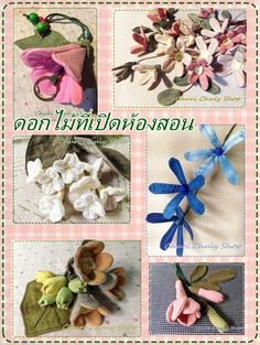 Fabric Flowers...By Churi Chuly Shop