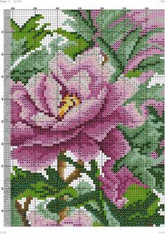 Gallery.ru / Фото #1 - 18 - kento Cross Stitch Bird, Cross Stitch Charts, Cross Stitch Patterns, Peony Flower, Needlepoint, Peonies, Needlework, Birds, Embroidery
