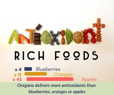 What is an antioxidant rich food? And why do I need to eat it? Oregano Essential Oil, Oregano Oil, 100 Pure Essential Oils, Detox Cleanse Drink, Detox Drinks, Detox Lymphatic System, Natural Detox, Detox Recipes, Blueberry