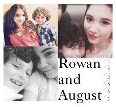 """rowan and august"" by mooerdoo ❤ liked on Polyvore featuring art, rowanblanchard, moorowan and rowancrazy"