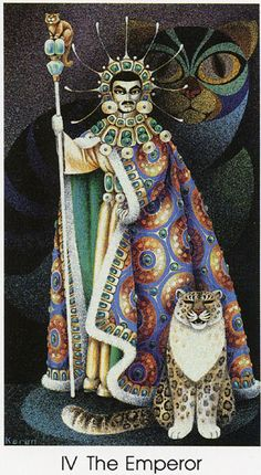 The Emperor - Tarot of the Cat People