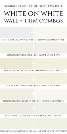 tricks for choosing the perfect white paint color and how to