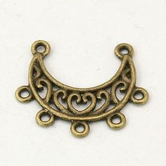 2PCS Antique Bronze Vintage Style by TwoOfAKindSuppliesUT on Etsy, $0.50