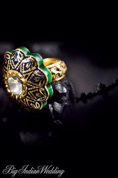 #Tanishq Taj collection ring #tajmahal #indianwedding