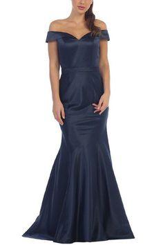 Elegant Satin Mermaid Bridesmaid dress BB 197-142