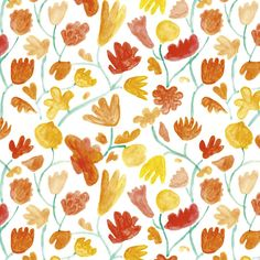Watercolor Flowers by SANAA  001  65% Cellulose, 35% Latex  Moderate Traffic  $150.00 / yard