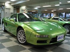 re color of this nsx suichgo lime green metallic