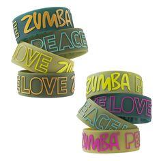 Buy Zumba PLZ Wide Rubber Bracelets 8-Pack