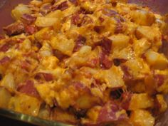 Twice Baked Potato Bake