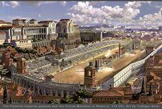 Zo moet het Circus Maximus eruit hebben gezien