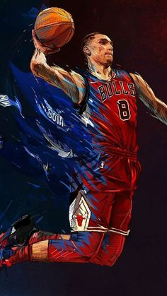2e85d51b14 Zach LaVaine the next big thing for the Chicago Bulls.. Always believed in  him