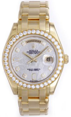 Diamonds and Rolex, what more is there?