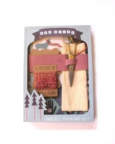 Parcel Packing Kit by Ask Alice Stationary