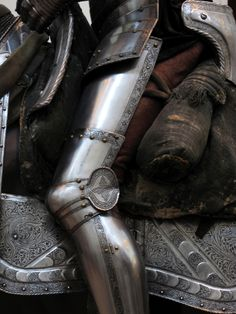 Knight - Leg Armor Detail, Metropolitan Museum of Art