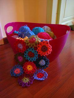 New scarf project and a pattern :) « Le monde de Sucrette's blog