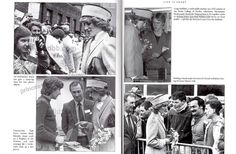 Tuesday, February 19, 1985: Princess Diana visiting Derby College of Further Education, East Midlands. N.B. Date is correct from newspaper. Book photos below have incorrect date.