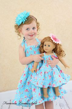 American Girl matching dress