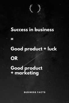 There is no alternative to marketing. It is paramount for success in business. Career Quotes, Boss Quotes, Success Quotes, New Business Ideas, Business Inspiration, Business Tips, Marketing Quotes, Business Marketing, Business Motivation
