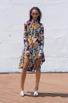 NEW The Tia Dress Short or Long Sleeve by DemestiksNewYork on Etsy ~African fashion, Ankara, kitenge, African women dresses, African prints, African men's fashion, Nigerian style, Ghanaian fashion ~DKK