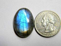 26x18 mm Blue Labradorite Loose Gemstone Oval Labradorite