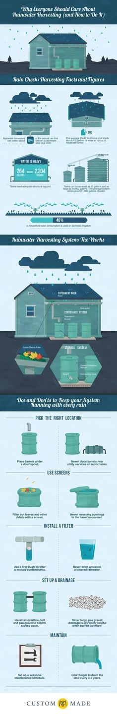 Why Everyone Should Care About Rainwater Harvesting (and How to Do It):                                                                                                                                                                                 More