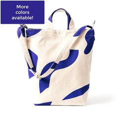 Recycled Cotton Canvas Tote, by Baggu