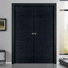 Sanrafael Lisa Flush Double Fire Door - L62 Reconstituted Ashen Prefinished. #sanrafaelfiredoors #internaldoublefiredoors #internaldoubledoors