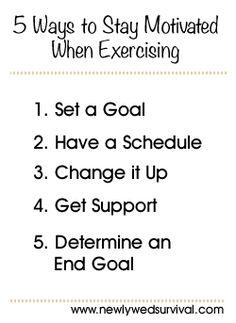 5 Exercise Motivation Tips #fitness #weightlossmotivation