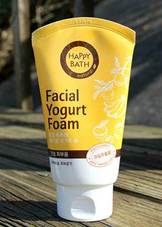 Happy Bath Facial Yogurt Foam.