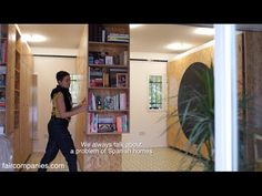 Madrid accordion home: transforming walls get 5 rooms from 1 - YouTube