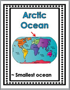 Geography Posters (Continents and Oceans)