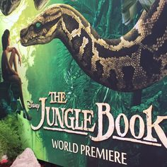 Did you catch us at the world premiere of #TheJungleBook?