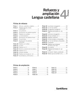 Refuerzo y ampliación lenguaje by Profesora Geovanna via slideshare Spanish Class, Teaching Spanish, Spanish Worksheets, School Items, Home Schooling, Math Activities, Literature, Homeschool, Editorial